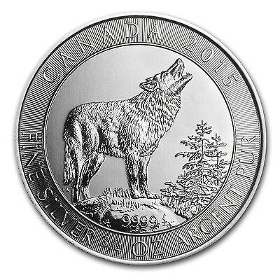 2015 Canada 3/4 oz Silver Grey Wolf BU - SKU #79787