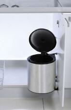 Automatic Waste Bin Kitchen Cupboard Storage Under Sink Bin 11L P/Steel