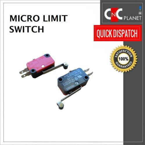 Micro Limit Switch Hinge Roller Lever Control CNC Router 3D Printer N//O N//C UK