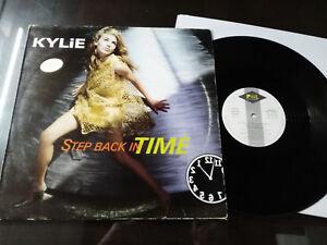 "Kylie Minogue Step Back IN Time 1990 Spain Ed G + Maxi LP 12 "" vinyl Vinyl"