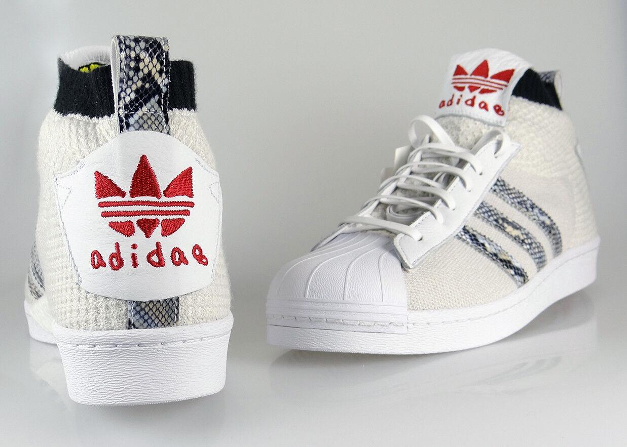 NEW Adidas Mens UA & SONS ULTRA STAR SHOES  B37111 SZ 11 White