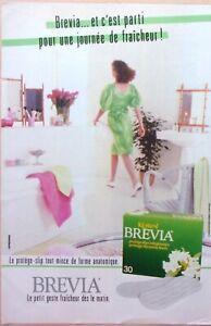 Advertising-Press-Protection-Feminine-Brevia-Kotex-IN-1985-Ref-69092