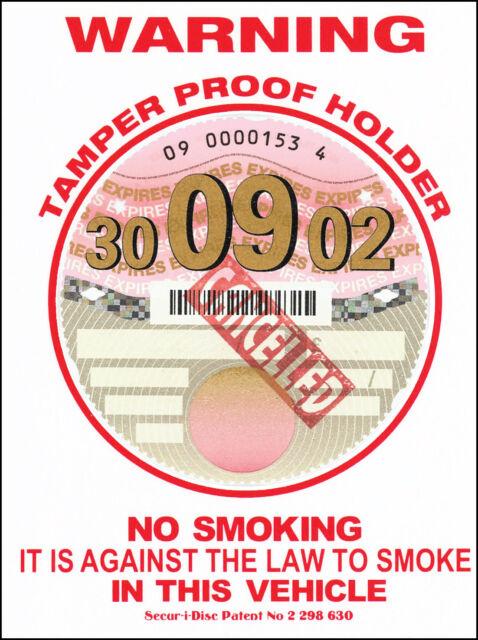 2x England Union Jack Great Britain Tax Disc Holder Car Sticker ID Permit Holder