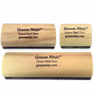 Groom Ninja Blade Grooming Comb De Shedding Cat Dog Horse Brush Rake Tool Ebay