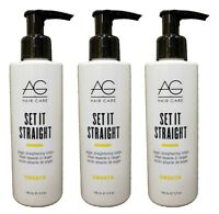 Ag - Set It Straight Smoothing Cream 5 Oz [pack Of 3]