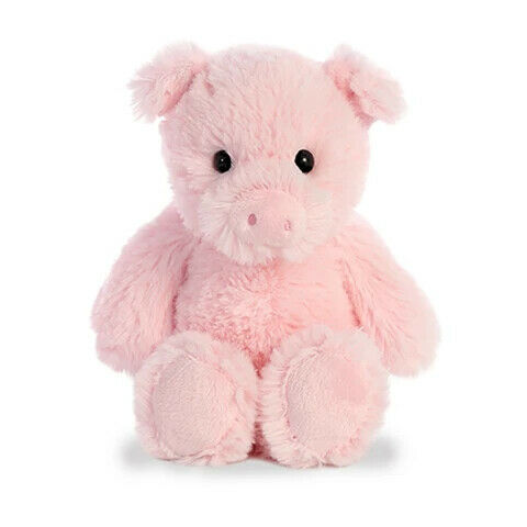 "8"" Aurora World Cuddly Friends Plush - Pig"