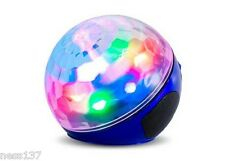 Projecteur Laser Sphere Bluetooth Rechargeable USB Mp3 Jeu de Lumiere Soirée