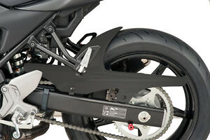 Puig 09-15 Suzuki SFV650 Rear Tire Hugger Matte Black