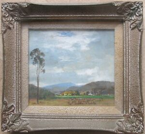 JOHN-SALVANA-AUSTRALIAN-FRAMED-OIL-034-LANDSCAPE-DOORALONG-NSW-034-1947