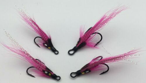 Fly Fishing Salmon Flies Jeeves salmon Doubles sizes 6-10 Pack of 8 #41A