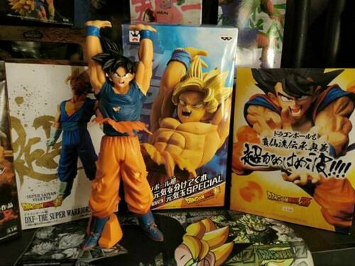 Dragon Ball Z Vegeta Trunks Action Figure Super Saiyan Son Goku Gohan DBZ UK