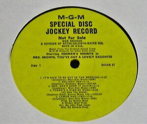 Herman-039-s-Hermits-Mrs-Brown-1968-US-PROMO-ONLY-MONO-LP-NEAR-MINT-RARE