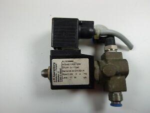 Murr Elektronik 24 V AC//DC-4 A Ventilstecker Magnetventil Anschluss Stecker