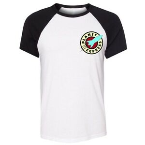 Futurama-Planet-Express-Delivery-Design-Print-Men-039-s-T-Shirt-Graphic-Tee-Tops