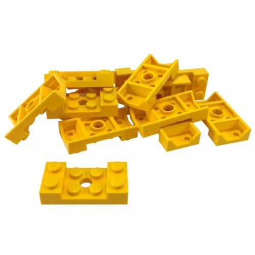 Mudguard 2 x 4 with Arch Studded with Hole 15 NEW LEGO Yellow Vehicle