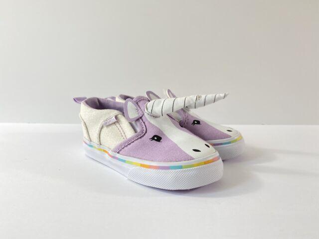Vans Asher V Canvas Slip-On Purple