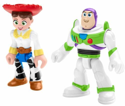 Imaginext Disney Pixar Toy Story Figures Buzz Lightyear and Jessie