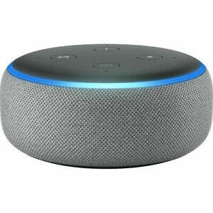 NUOVO-Amazon-ECHO-DOT-3rd-Generazione-con-Alexa-SMART-Altoparlante-grigio
