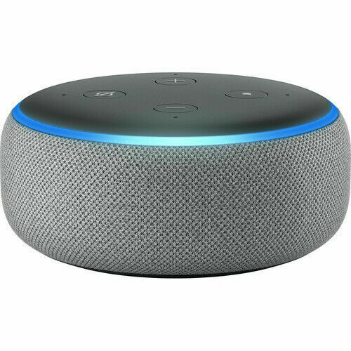 NEW Amazon Echo Dot (3rd Generation) with Alexa - Smart Speaker - Grey