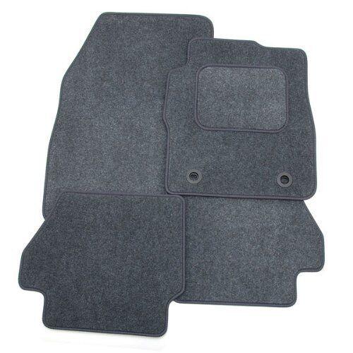 Eyelet Perfect Fit Grey Carpet Interior Car Floor Mats For Honda Jazz 02-06