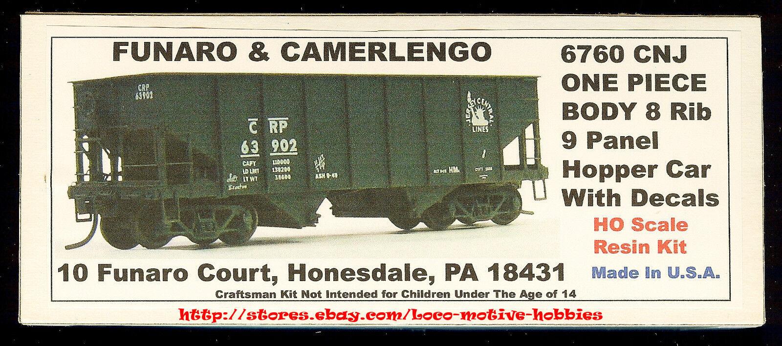 Funaro F&C 6760 CENTRAL NEW JERSEY CNJ Hopper CRP 8-Rib 9-Panel 1-PIECE BODY Kit