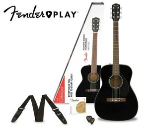 Fender-CC-60S-Concert-Acoustic-Guitar-Pack-With-Fender-Play-Black
