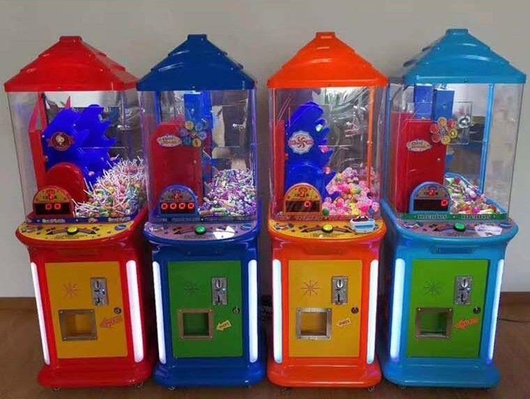 Fabriksny automat til børn