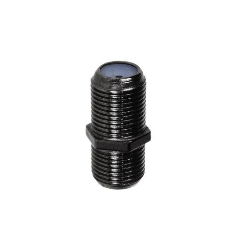 F-Stecker oder F-Verbinder F-Buchse für SAT Antennenkabel Koaxialkabel Adapter