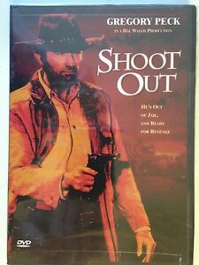 SHOOT-OUT-hard-case-1972-DVD-Gregory-Peck-NEW