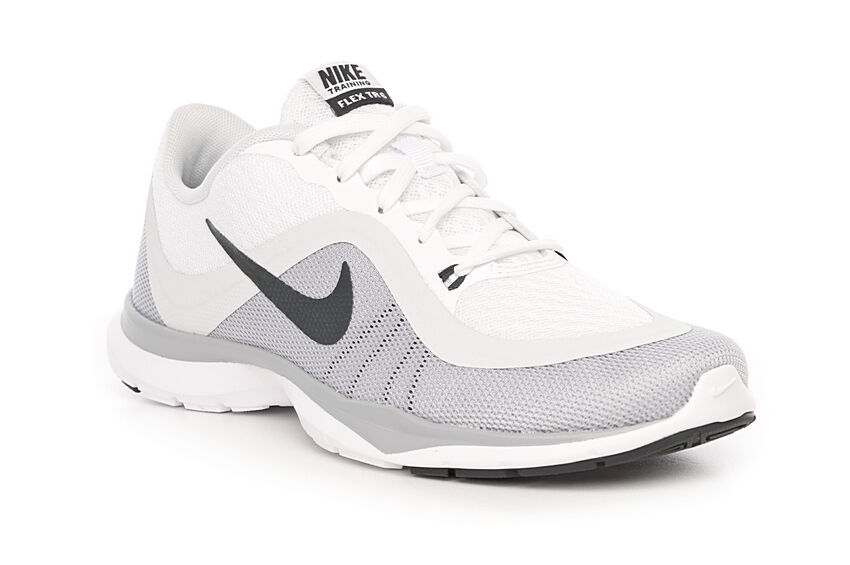 new concept 8f9f3 02eef Women s Nike Nike Nike Flex Trainer 6 White Platinum Running Training shoes  Size 9.5 e96230