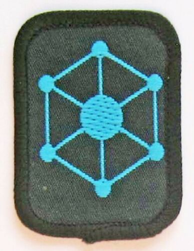 1980/'s//90/'s - New Scout Patrol Badge Blue Abstract