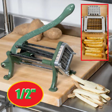 12 Commercial Potato French Fry Chopper Slicer Cutter Wedge Restaurant Dicer