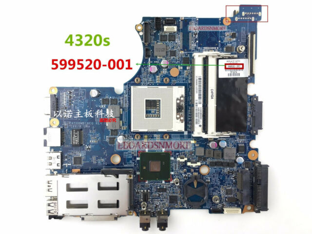 For HP Probook 4520S 4720S Intel Laptop Motherboard 598667-001 100/% Test OK
