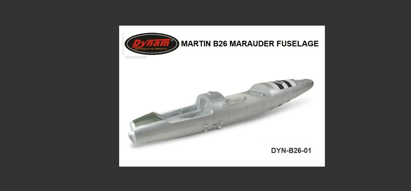 Dynam Martin B26 Marauder Fusoliera