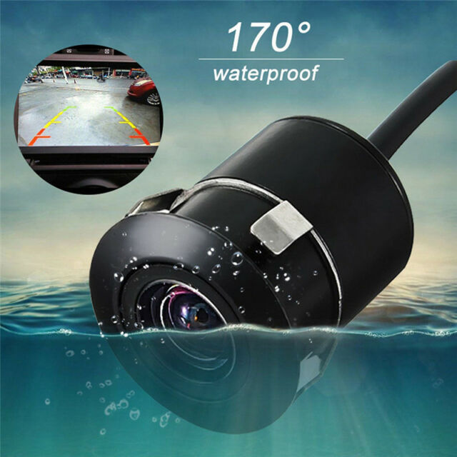 170° Car Rearview Back Up Camera Night Reverse Parking Waterproof Top Visibility