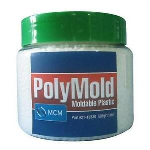 PolyMold 17.6 oz. Moldable Reusable Plastic Pellets Shape Into Anything