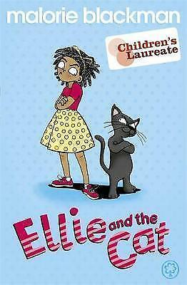 Blackman, Malorie, Ellie And The Cat (Orchard Green Apple), Very Good Book