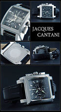 SQUADRON SQUARE CHRONOGRAPH WATCH JACQUES CANTANI