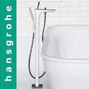 Hansgrohe-PuraVida-15473000-Freestanding-Bath-amp-Shower-Mixer-w-Handshower-amp-Hose