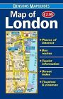 Map of London by Bensons MapGuides (Sheet map, folded, 2013)
