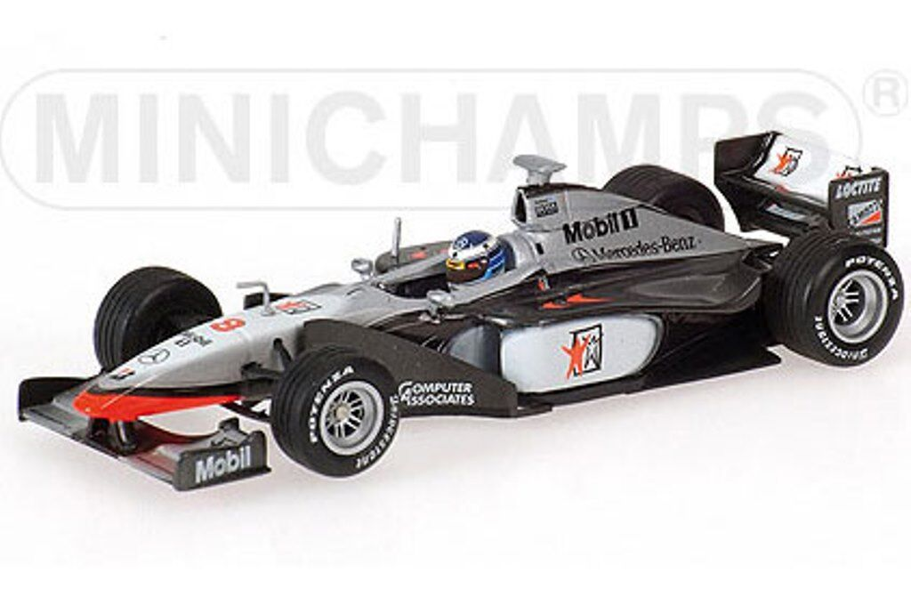 MINICHAMPS 436 980008 McLAREN MP4 13 F1 model race car Mika Hakkinen 1998 1 43rd