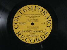 BARNEY KESSEL PLAYS CARMEN LP NM/EX+ USA CONTEMPORARY MONO DG M3563 YELLOW LABEL