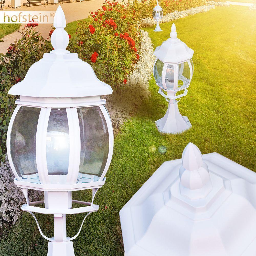 Clásica exterior pie zócalo jardín iluminación farol bolardo caminos lámpara Weiss