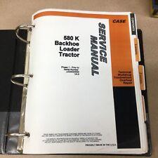 Case 580k Service Shop Repair Manual Tractor Backhoe Loader Oh Guide 8 71551