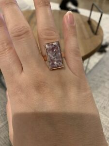 Lavendar-Opal-Rose-Gold-Ring-Size-8-Plated