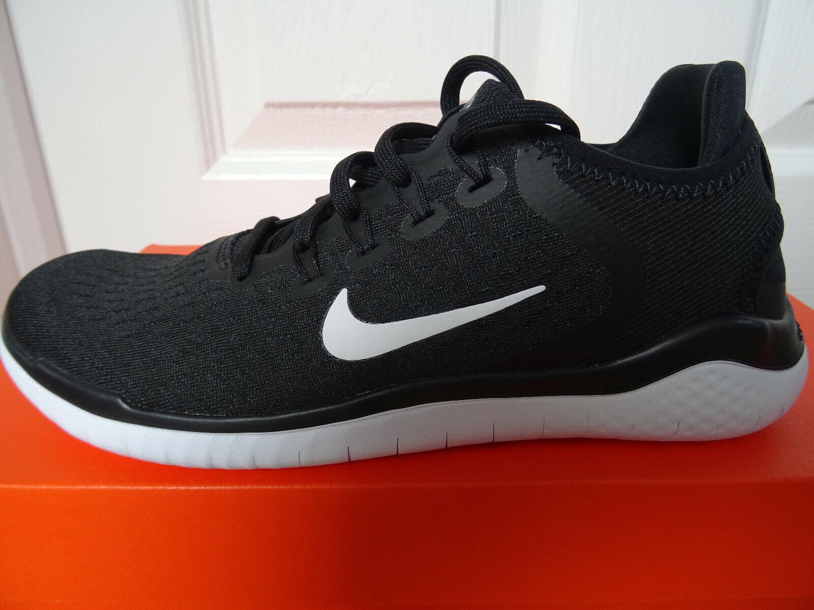 Nike Free RN 2018 damen Trainer Schuhe 942837 001 uk 4 eu 37.5 us 6.5 NEW BOX