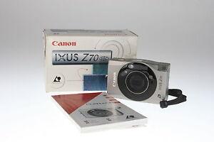 Canon-Ixus-Z-70-APS-Kamera-mit-23-69mm-Canon-Zoom-Lens-Anleitung-und-OVP