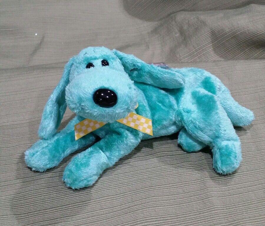 Ty Beanie Baby Diddley the Green Dog  - 2001 MWMT Retired