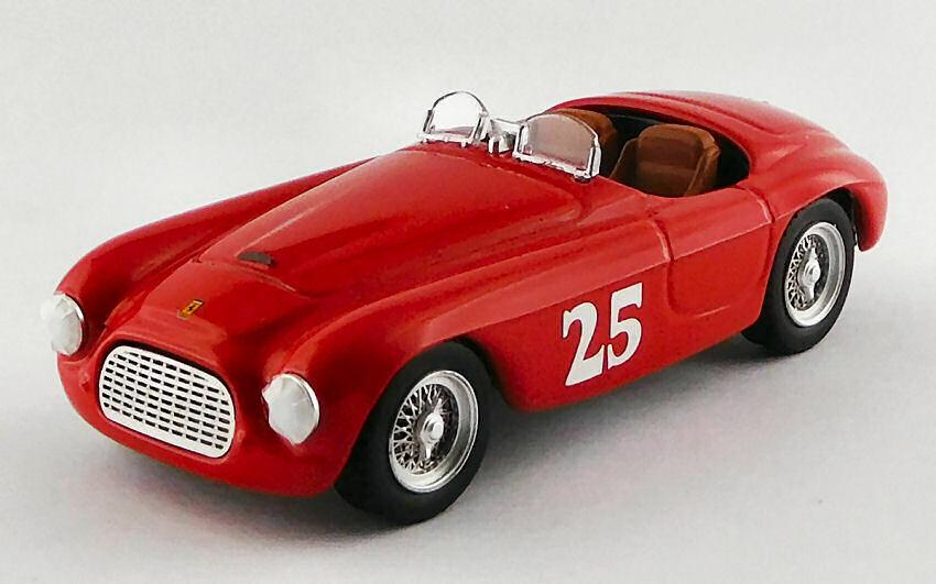 Ferrari 166 Touring Barchetta Winner Palm Springs 1951 M. Lewis 1 43 Model