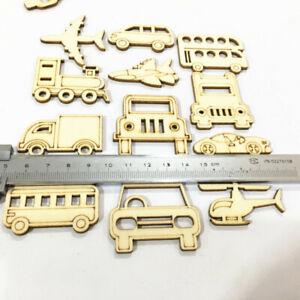 30pcs-Transportation-Wooden-MDF-Cardmaking-Hanging-Ornaments-Embellishment-Craft